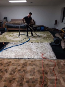 The Area Rug Cleaning Process